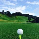 ゴルフ場の風景