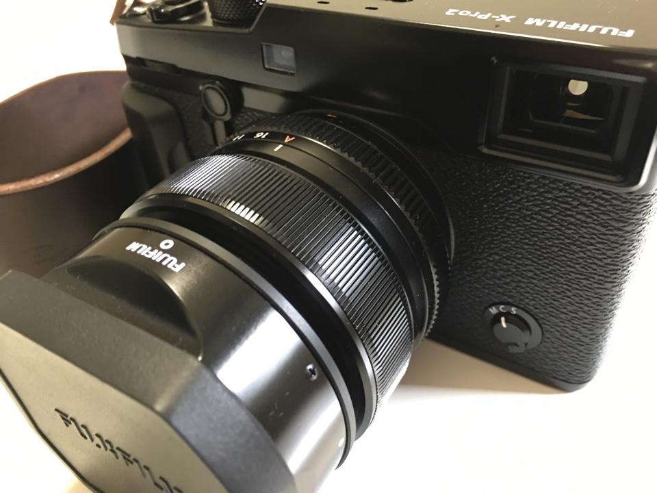 x-pro2にXF35mmF1.4装着