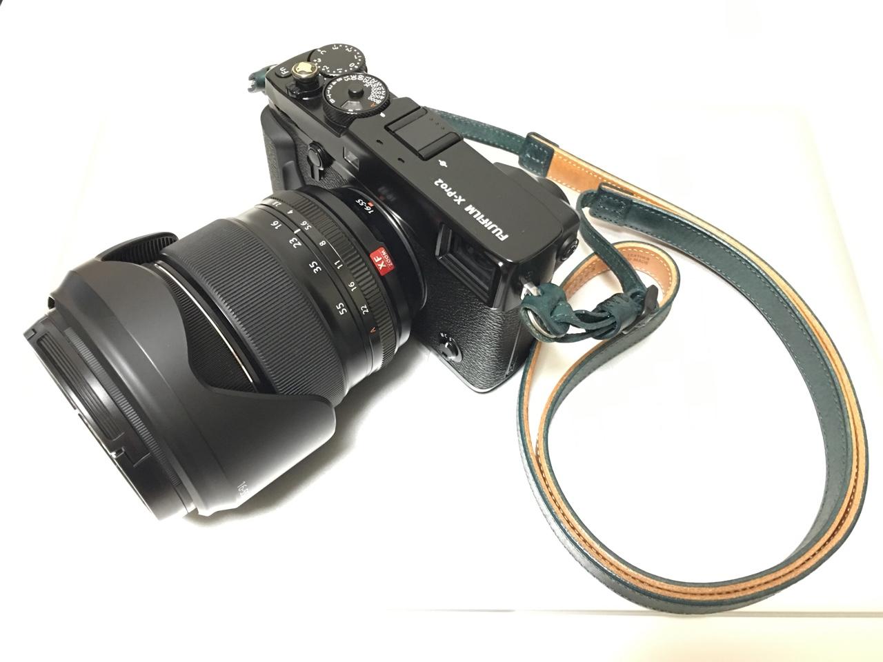 X-Pro2にXF16-55を装着