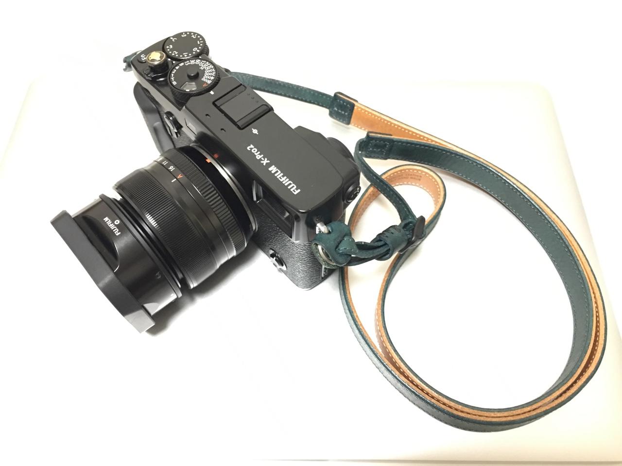 X-Pro2にXF35mmを装着