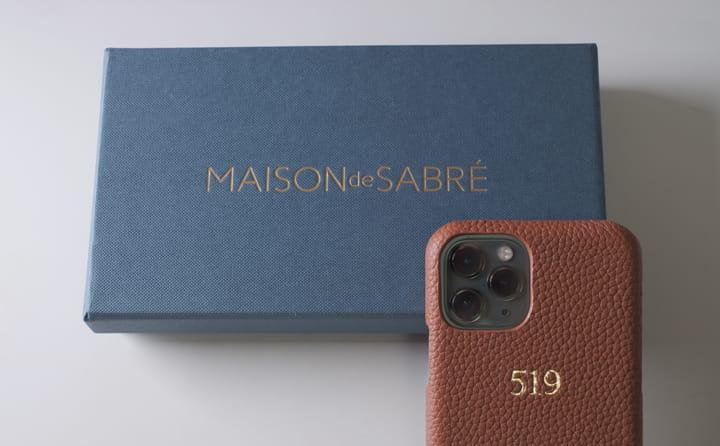 オリジナルの本革iPhoneケース