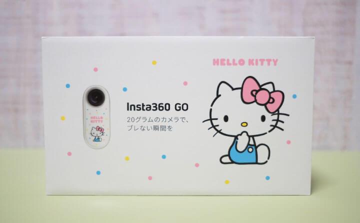 Insta360GOのハローキティ特別版の外箱