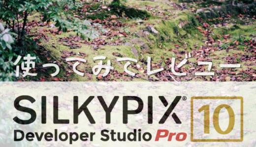 初心者歓迎の現像ソフトSILKYPIX Developer Studio Pro 10をレビュー